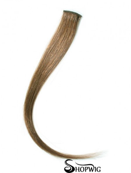 Natural Blonde Straight Remy Human Hair Clip In Hair Extensions