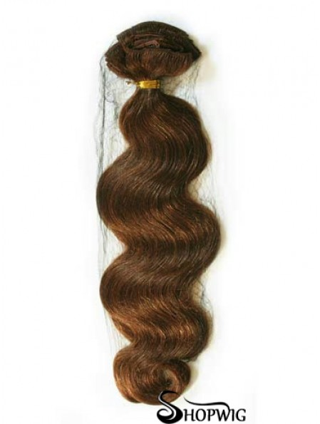 Auburn Wavy Good Remy Human Hair Tape In Hair Extensions