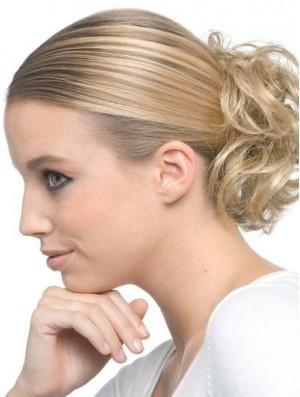 Blonde Human Hair Wrap UK