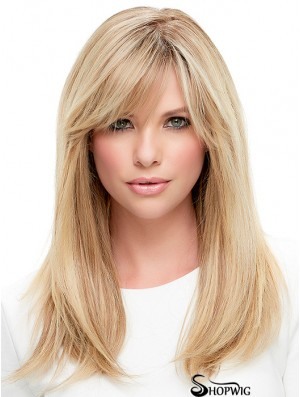 Ladies Wigs Cheap Lace Front With Bangs Straight Style