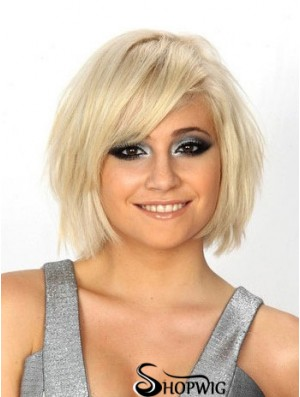 Bob Wigs UK 100% Hand Tied Straight Style Chin Length