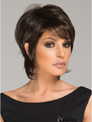 "6"" Black Lace Front Wigs For Black Women"
