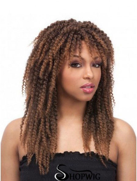 Wigs African American Cheap UK With Capless Kinky Style Layered Cut