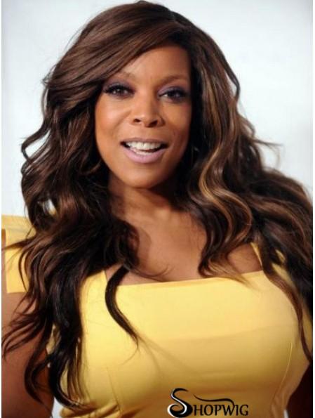 Wendy Williams Wigs Maker With Lace Front Synthetic Long Length