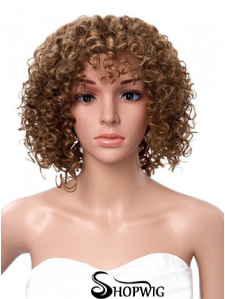 12 inch Brown Lace Front Wigs For Black Women