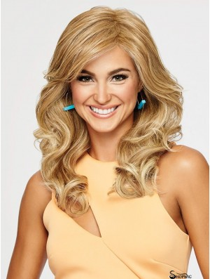 Layered Blonde Wavy 18 inch Long Synthetic Wigs