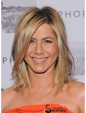 Jennifer Aniston Wigs With Shoulder Length Layered Cut