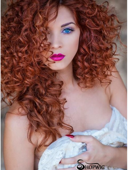 16 inch Long Curly Cropped Synthetic Lace Wig UK