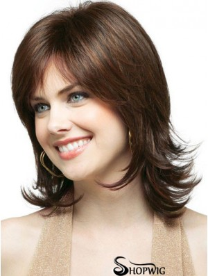 Best Quality Synthetic Hair Weaving With Capless Shoulder Length