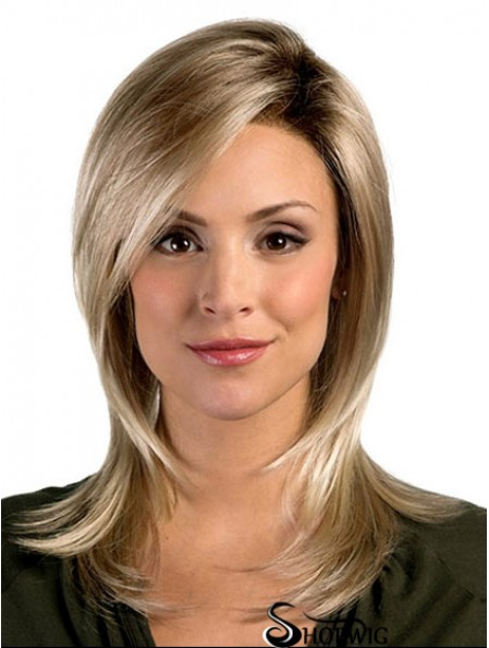 Good Synthetic Wigs UK With Capless Shoulder Length Straight Style