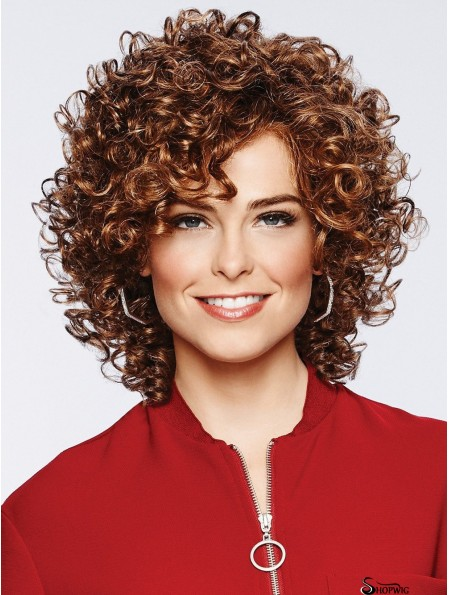 Shoulder Length Lace Front Brown 11 inch Classic Wigs