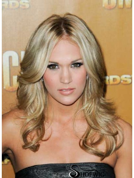 Amazing Blonde Long Wavy 20 inch Layered Carrie Underwood Wigs