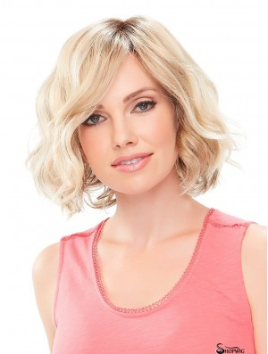 Chin Length Monofilament Blonde 11 inch Classic Wigs