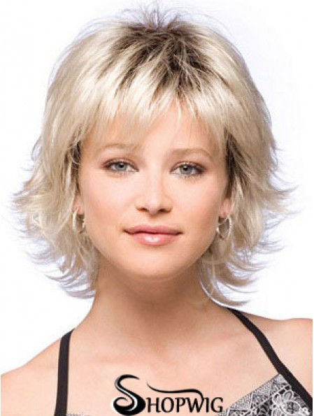 Chin Length Straight Capless Wigs Online Store