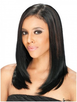 Natural Brown Long Straight U Part Wigs