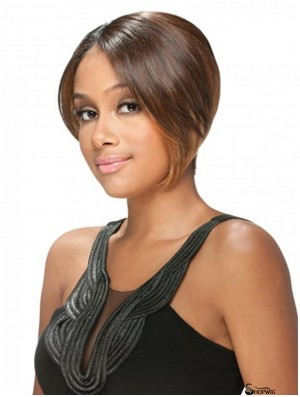 Cheap Brown Short Straight U Part Wigs