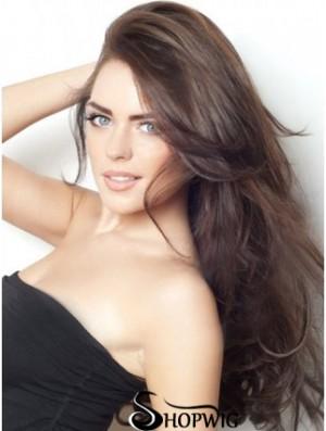 Ideal Auburn Straight Remy Human Hair Clip In Hair Extensions